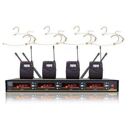 UHF Wireless Microphone System Professional Radio Headset mi