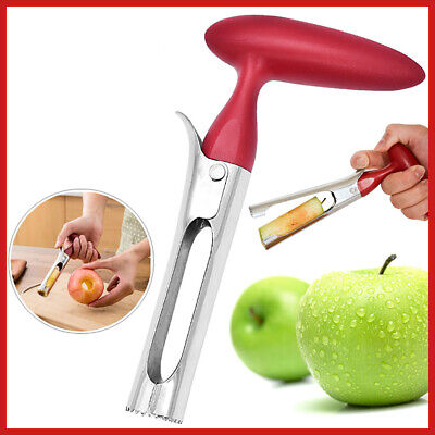 Stainless Steel Kitchen Tool Handheld Apple Twist Corer Fruit Core Remover Seed