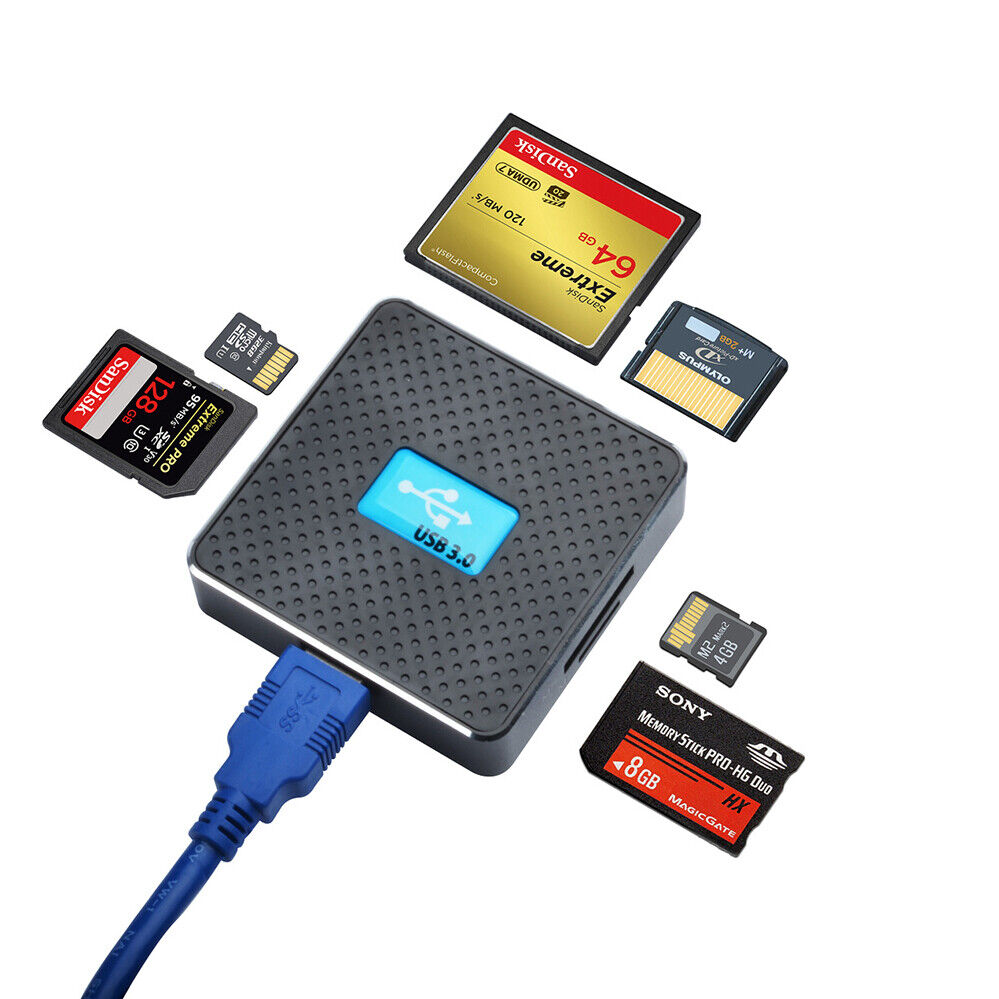 micro for multi cf usb 30 memory card reader all in one