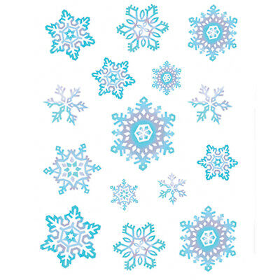 Snowflake Window Clings - Snowflake Window Clings