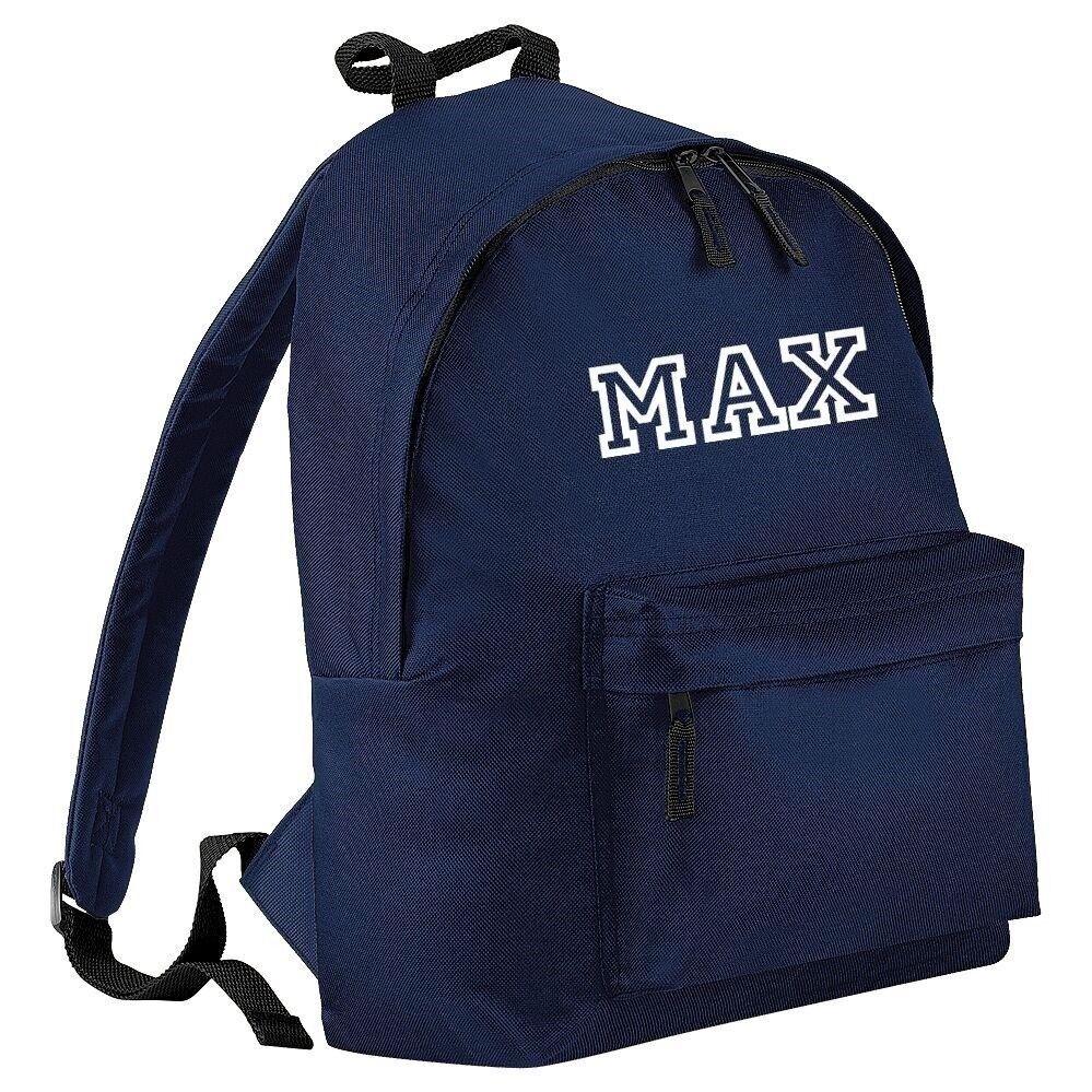 Personalised ALLSTAR printed Rucksack Backpack Back to School Bag Boys or  Girls 1cebfbc993