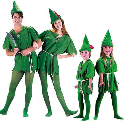 Peter Pan Robin Costume  Hood Adult Man - Peter Pan Dress Up Kostüme