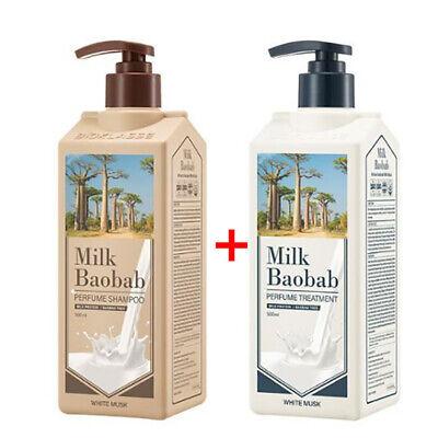 Milkbaobab Perfume White Musk Treatment 500ml + Shampoo 500ml / K-beauty