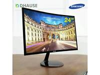 "Curved Samsung 24"" UHD/LED Monitor"