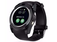New V8 smart watch Men's Bluetooth smartwatch Watch For android Wristwatch