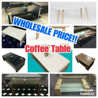BRAND NEW Wooden,Metal,Glass,Mdf COFFEE TABLE Cheap Price!