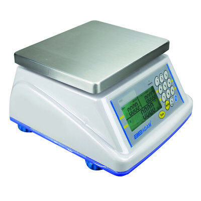 Adam Equipment Wbz 15A Washdown Weighing Scale 15Lb   6Kg X 0 005Lb   2G