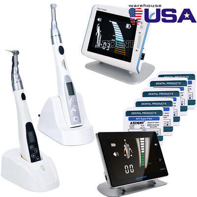 Dental 161 Endodontic Endo Motor Cordless Handpiece Apex Locator Super Files