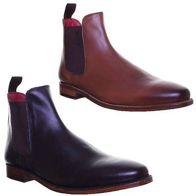Justin Reece Trevor Mens Smart Casual Chelsea Ankle Boots Sizes UK 6 - 12