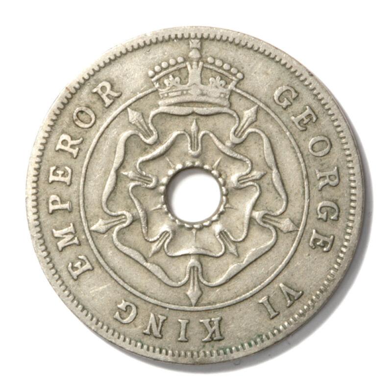 Southern Rhodesia George VI Penny 1939  VF+ KM3