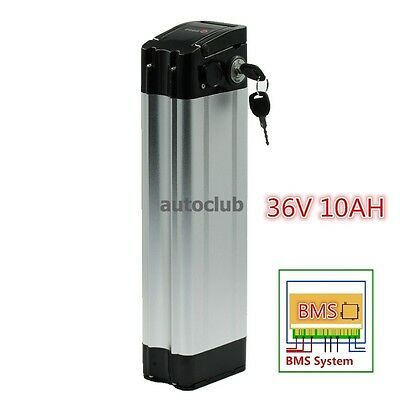 DuraB 36V 10ah Lithium Li-ion Power E-bike Battery for Electric Bicycle Fish-1