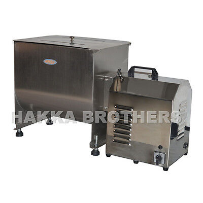 Hakka 100 Pound 50 Liter Capacity Tank Commercial Electric Meat Mixer Fme50b