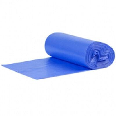 1 ROLL HEAVY DUTY BLUE BUILDERS RUBBLE SACKS/BAGS ON ROLLS FREE P&P