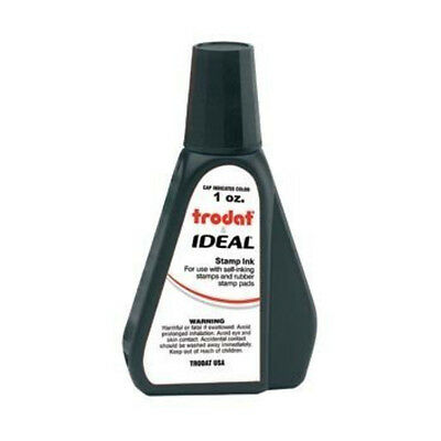 1 Oz Black Rubber Stamp Refill Ink For Self Inking Stamps Stamp Pads