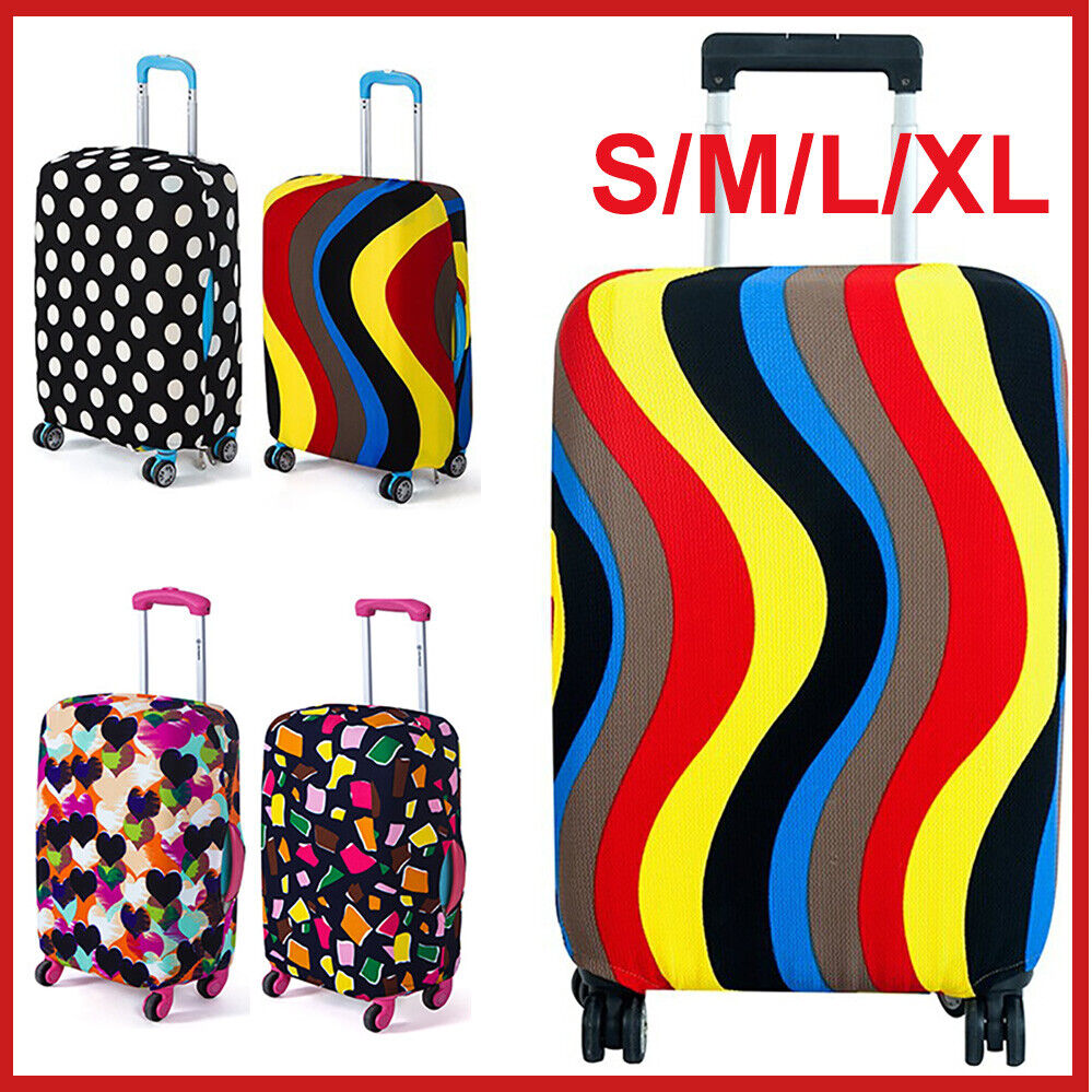 Black And Blue Polygonal Pattern Luggage Tags Suitcase Labels Bag Travel Accessories Set of 2
