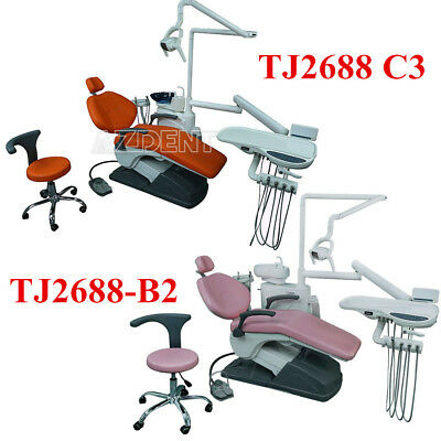 Dental Treatment Integral Unit Chair Computer Controlled With Doctor Stool Ca