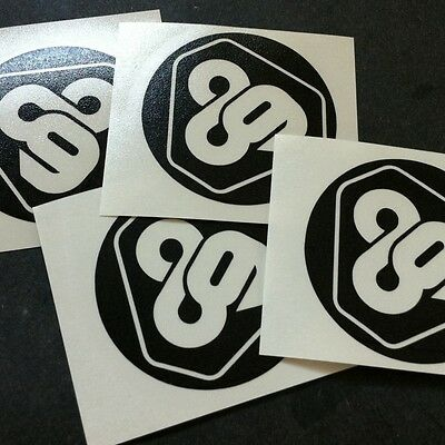 "(4x) 2"" Tron 89 Die Cut Decal Stickers"