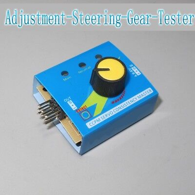 1pcs Dc4.2v6v Steering Gear Tester Brushless Esc Tester Third Gear Hm Tester