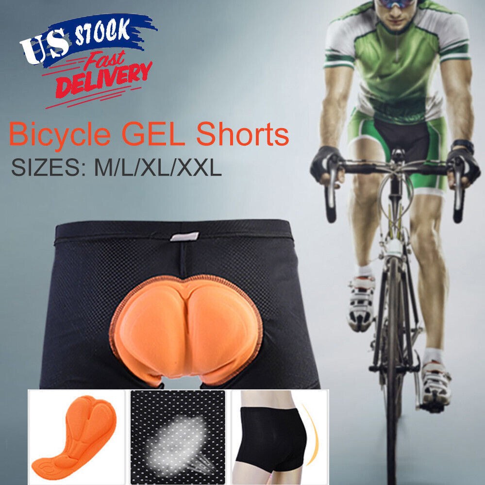 Mens 3D Padded Underwear Cycling Shorts Bicycle Road Mountai