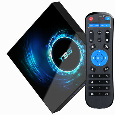 2021 NEW T95 Android 10.0 TV Box 2GB+16GB Quad Core HD Media Player WIFI HDMI