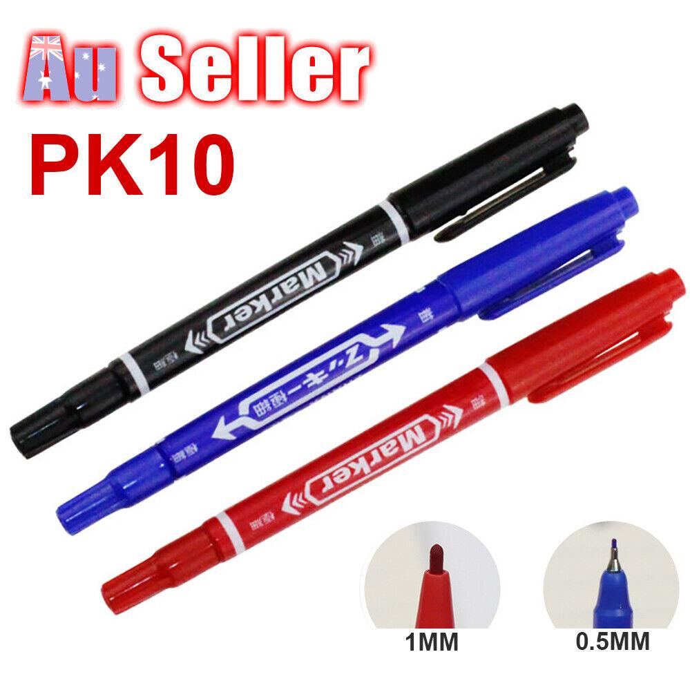 10x Marking Pen Piercing Dual-Tip Scribe Tool AU Skin
