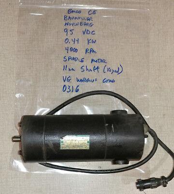Emco Compact 5 Lathe F1 Cnc Mill 95v Dc Spindle Motor Baumuller Nurnberg 0316
