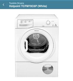Hotpoint tcfm70c6p tumble Dryer. BRAND NEW