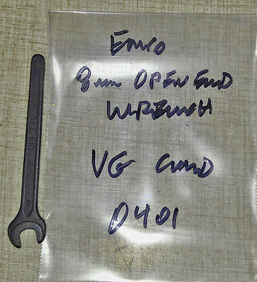 Emco Compact 5 Concept Turn 55 Lathe 8mm Open End Wrench 0401