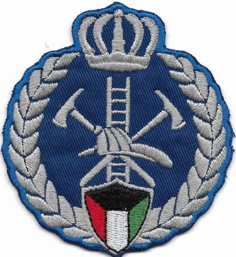 KUWEIT Fire Department الكويت Emirat KUWAIT Patch FEUERWEHR Abzeichen Arabisch