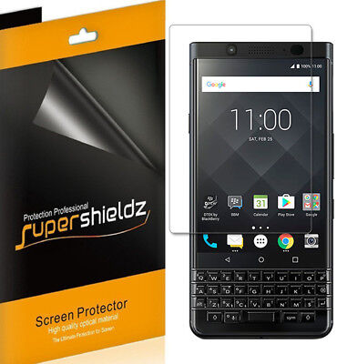 2X Supershieldz Clear Full Coverage Screen Protector for Blackberry -