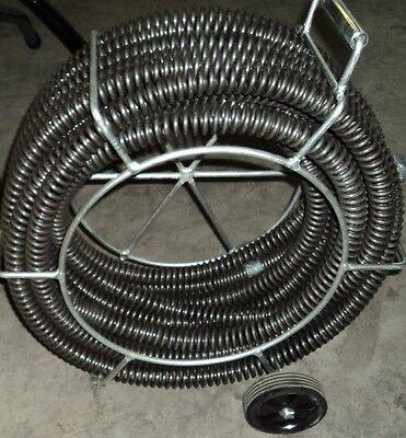 Bluerock 1-14 Sectional Drain Pipe Cleaning Snake Fits Ridgid K1500 62280