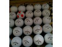 Callaway chrome 40p each