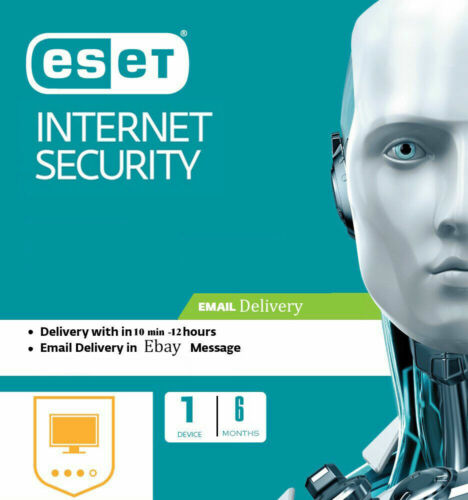 ESET NOD32 Internet Security 2020, 6 MONTHS /180 DAYS -1 PC Email License Key