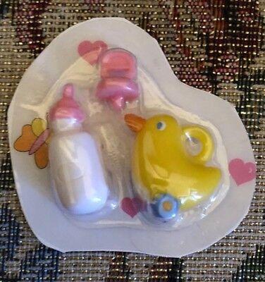 NIP Zapf Creations Baby Born Miniworld Mini Doll Bottle Duck + Pacifier NEW for sale  Senoia