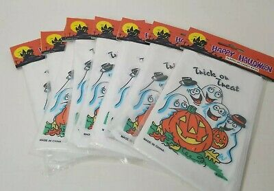 Halloween Goody Bags For School (8 pks of 40 = 320 Halloween Treat Bags Teacher Gift Trick or Treat, School)