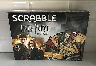 SCRABBLE Harry Potter Edition Board Game - SEALED-NEW