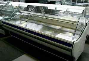 Eurocryor 2500mm italian made curved glass deli display Dandenong Greater Dandenong Preview