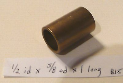 Oilite Bushing Bronze 12 Id X 58 Od X 1 Brass Bearing Bush Sleeve Spacer B15