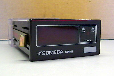 Omega Dp461 Rtd Digital Temperature Monitormeter Single Alarm Option