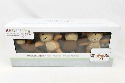 NEW Bedtime Originals Musical Mobile Mod Monkey Collection Rotating Crib Toy NIB