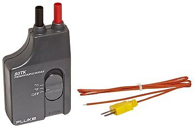 Fluke 80tk Thermocouple Module Converts A Dmm To A Thermometer -50 To 1000c