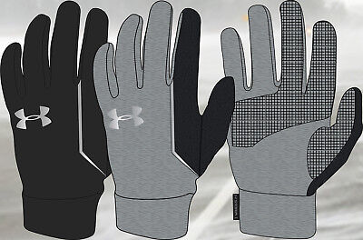 Under Armour No Breaks Coldgear Touch Screen Gloves New! - Free Shipping