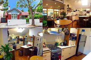 Large 4BR house mins from Newtown - 1 Queen size private BR AVAIL Enmore Marrickville Area Preview