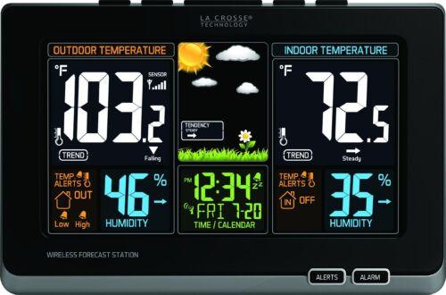 La Barometers Crosse Technology 308-1414B Wireless Atomic Di