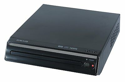 CRAIG CVD401A HDMI Compact Home Video Movie Theater Entertainment DVD Player