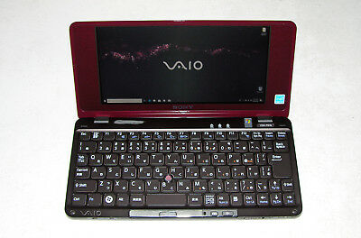 Sony Vaio VGN P61S P Series Lifestyle UMPC Atom 1.33GHz 32SSD 1GB RAM WIN 10