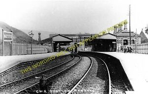 Maesteg Castle Street Railway Station Photo. Tondu - Nantyffyllon. GWR