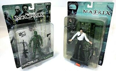 Vintage 2000 Warner N2 Toys THE MATRIX Mr Anderson Interrogation Neo Agent Smith](Neo Anderson)