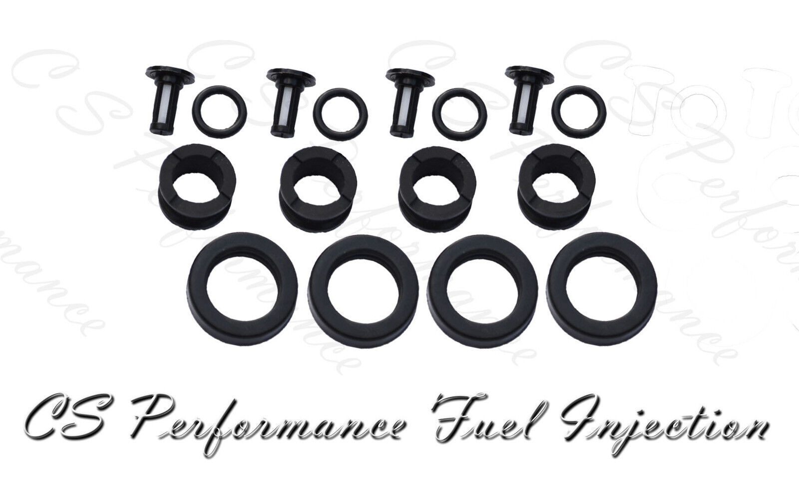 OEM Quality Fuel Injector Seal Kit Filters Viton Orings 99