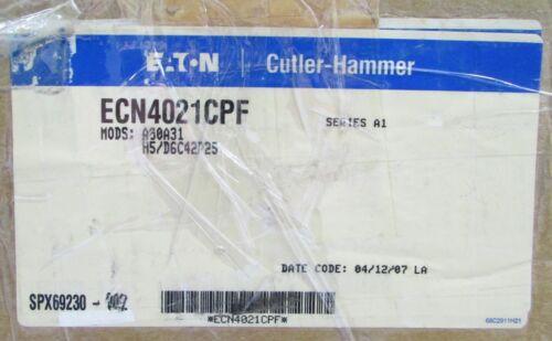 EATON CUTLER HAMMER ECN4021CPF Size 2 Reversing Combination Motor Starter